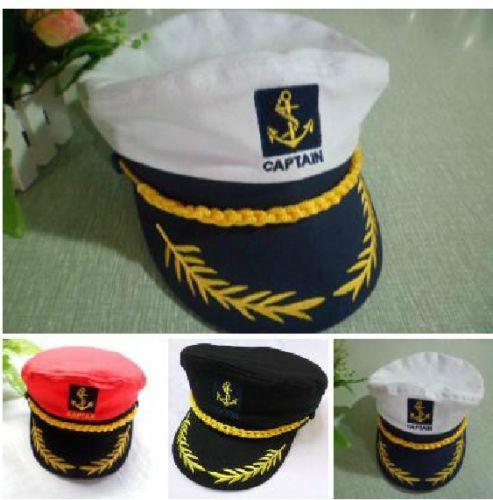 Men Women Navy Performances Caps Captain Romania Naval Hat Seafarers Hat Sailor Sailor Cap