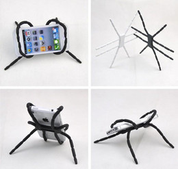 Wholesale Multifunction Gps - Universal Multifunction spider phone Stand holder car holders for iphone 6 7 Plus Galaxy S6 S7 Edge GPS with Retail box DHL