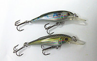 5cm 3. 9g and 6. 5cm 9g Minnow Bait Fishing Lures Hard Plastic...