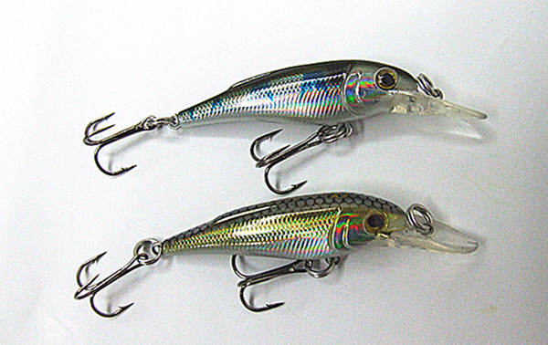 5cm 3.9g and 6.5cm 9g Minnow Bait Fishing Lures Hard Plastic Artificial Bait Sea Cast Bait Suspended type For Sea or Fresh Water Fish Lure