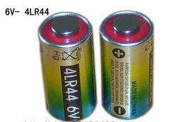 Free ship 8pcs/lot 4LR44 6V alkaline battery