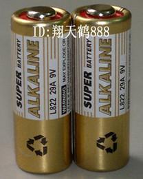 remote control 9v 2019 - free ship 5pcs lot 9v 29A 32A alkaline battery Garage Door Opener L32  L822 car remote control battery