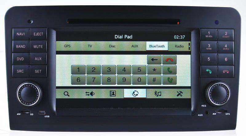 Car DVD Player GPS Navigation For Mercedes Benz GL / ML W164 ML300 ML350  ML450 ML500 W/ Nav Radio Bluetooth TV USB Map Audio Video Navigator  Cheapest