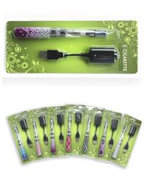 Wholesale Diamond Ego Ce4 - Best Gift Art design diamond ego battery with ce4 atomizer blister kits Electronic Cigarette Fashion e-cig kits Promotion Today