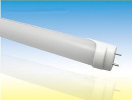 Wholesale Smd3528 Led Tube - 50pcs lot 23W 1200MM Lamp T8 LED Tube Light High Bright Epistar SMD3528 6-7LM LED 288ledS 2200LM AC85-265V Led Bulb Light