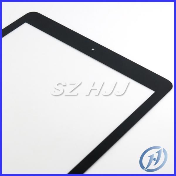لباد 5 / شاشة الجبهة الهواء زجاج عدسة محول الأرقام اللمس غطاء للحصول على استبدال أبل iPad5 5