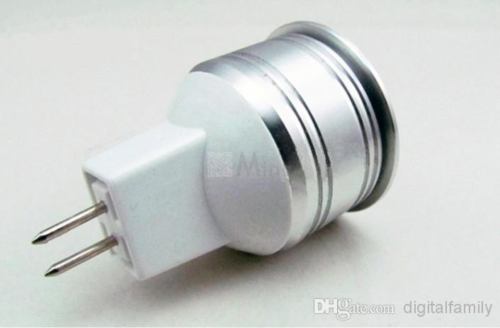 MR11 GU4 3 W LED spot chaud / blanc DC 12 V AC 12 V 35 mm diamètre mini led ampoule lampe éclairage intérieur LED Ampoules lampe Économie d'énergie lumière