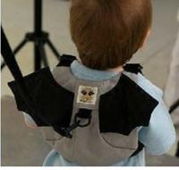 arneses al por mayor-2014 Batman Baby Harness Mochila para niños Mochilas escolares Mochilas de seguridad para caminar Reins Satchel Mochilas TB