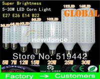 Wholesale Saving Energy Lamp Corn - E27 E26 E14 B22 5050 SMD LED Corn Bulb Light 360degree Maize Lamp Energy Saving light Cool White 5W 7W 10W 12W 15W 20W 25W 30W New Arrival