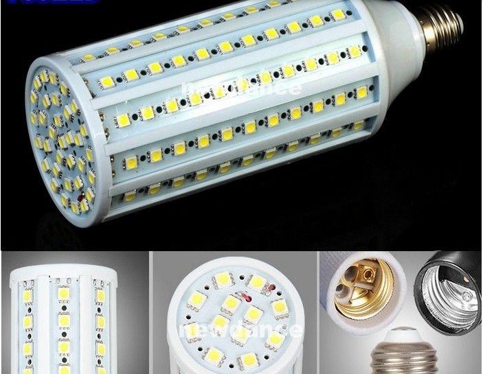E27 E26 E14 B22 5050 SMD LED Corn Bulb Light 360degree Maize Lamp Energy Saving light Cool White 5W 7W 10W 12W 15W 20W 25W 30W New Arrival