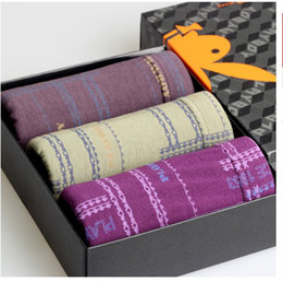 Wholesale Men S Bamboo Underwear Briefs - Genuine Playboy men 's underwear breathable antibacterial bamboo fiber men's boxer briefs waist Gift Packaging
