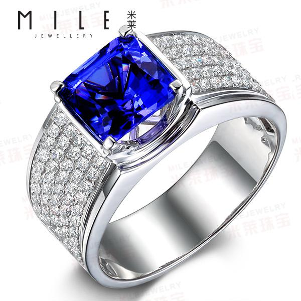 Tanzanite And Diamond Rings For Sale