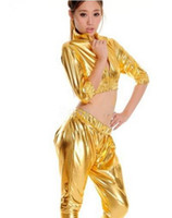Wholesale Wholesale Clothing Dance Nightclubs - Jazz dance clothes ds stage costumes HIP-HOP harem style fashion suit sexy nightclub clothing Stage Evening Show Singer Suit