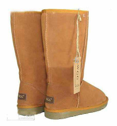 Wholesale Thigh Boot Flat - Wholesale - fashion High Quality Tall Women's Boots WGG Chestnut boots Womens boots Snow boots Winter boots leather boots lady boots