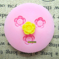 Wholesale Silicone Molds Fondant Flowers - Arylic Resin Flower silicone mold,fondant molds,sugar craft tools,chocolate mould ,soap cake decorating tools