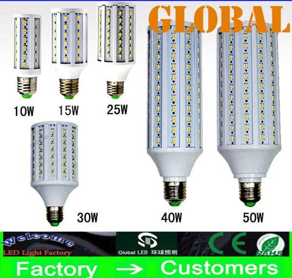 top popular LED Corn Bulb Lamp 5630 SMD10w 15w 25w 30w 40w 50w E27 B22 E14 210-240V 110-130V Energy Saving Light 42pcs 60pcs 84pcs 98pcs 132pcs 165pcs 2020