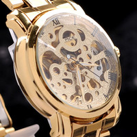 relógio de luxo vencedor venda por atacado-Frete Grátis Relógios dos homens Analógico Relógio de Pulso de Aço Inoxidável Pulseira de Negócios de Luxo Relógio de Quartzo Relógio de Moda
