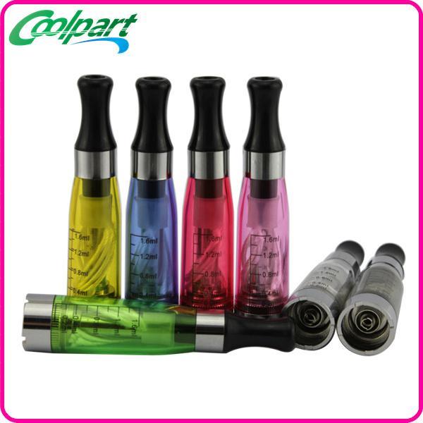 E cigarette CE4 1.6ml atomizer cartomizer 510 ego-CE4 ego t ego w e-cigarette for all ego series CE5 CE6 CE7 T2