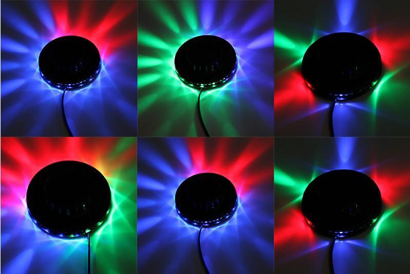 Auto Sprachaktivierte Mini Led Laser Bühnenbeleuchtung Licht Lichter Sternenklare Innenmusik DISCO DJ Party Weihnachtsgeschenk Neue Ankunft