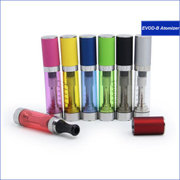 Wholesale Electronic Ciagrette - New arrival EVOD vaporizer with cap 2.4ml Electronic Ciagrette Atomizer Rebulidable Changeable Colorful EVOD-B Special Design Cartomizer