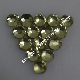 2019 jarrones decorativos de cristal 1440 unids / pack hot fix SS10 2.7-2.9MM rhinestone coreano nailarst Jonquil DIY hierro-en piedras de cristal Hot Fix