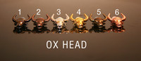Wholesale Dragon Head Shaped - EGO Drip Tip with 510 Thread Metal Ox Dragon Head Shape Drip Tip for ego-t ego-c ego-vv Electronic Cigarette Accessories Mouthpiece