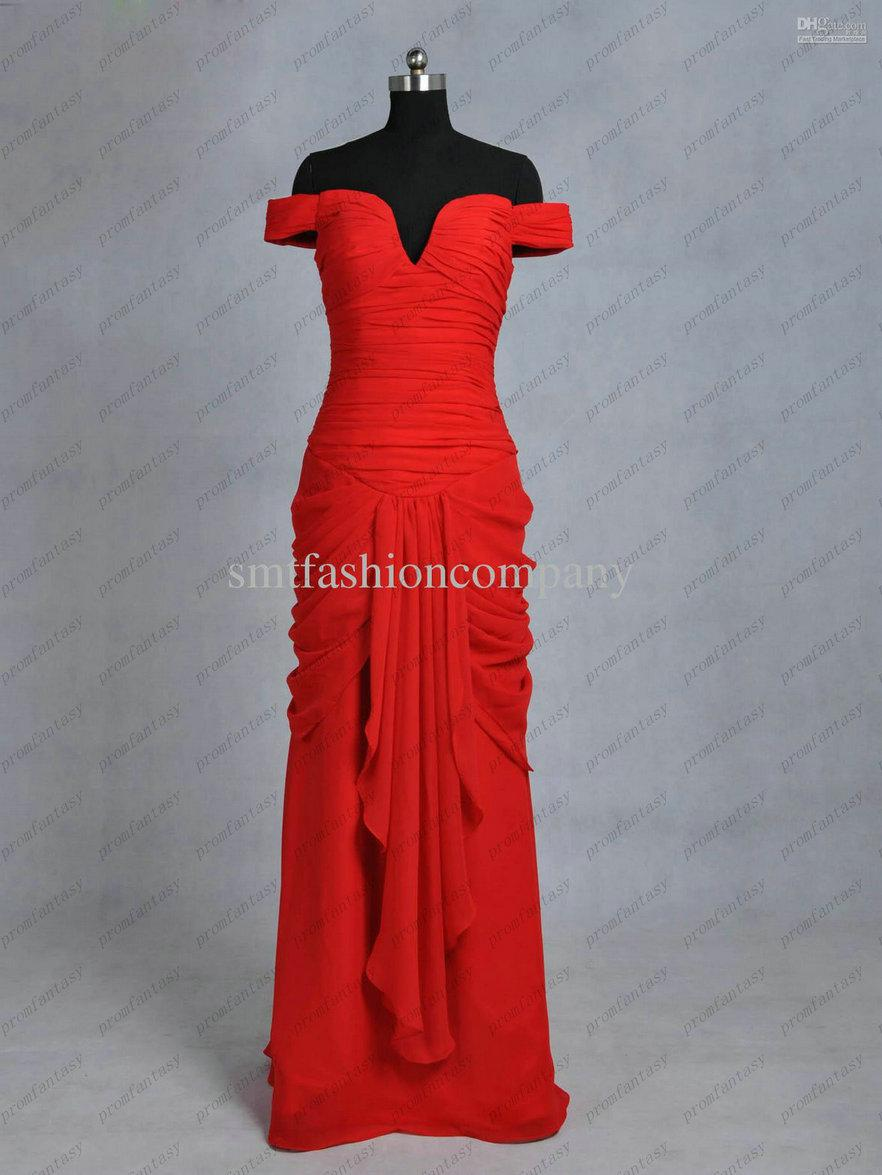 Julia Roberts Red Evening Prom Dresses In Pretty Woman Actual Images ...