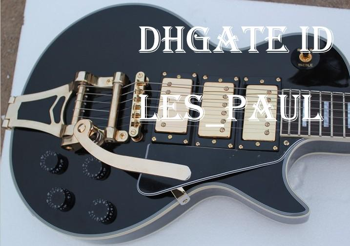 custom jimmy page black beauty electric guitar with bigsb tremolo tailpiece 5 ply binding three. Black Bedroom Furniture Sets. Home Design Ideas