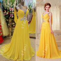 ingrosso migliori vestiti da promenade-La migliore vendita 2014 design moda perline a-line in chiffon dell'innamorato del partito di lunghezza del pavimento abiti da ballo pageant abiti Xi8-5