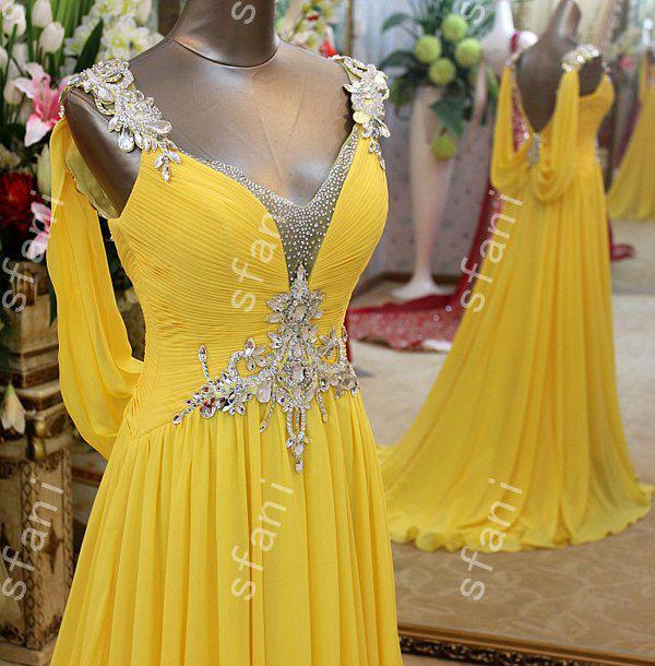 Bästsäljande 2019 Design Mode Beaded A-Line Chiffon Sweetheart Party Floor Length Prom Klänningar Pagant Klänningar Evening Party Gowns
