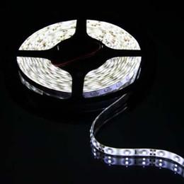 Vente en gros 5M 150 LED 5050 SMD Bande LED Lumière étanche Flexible LED Décoration extérieure LED Lampe Bande 25M / Lot 6 Couleurs Livraison gratuite 000070