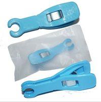 ingrosso piercing imballato-nuovo arrivo a basso prezzo 10pcs monouso Pinza per piercing morsetto blu rotondo sterilizzato Packing Piercing Tools