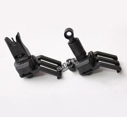 Wholesale Sight 45 Degree - KAC 45 Degree Offset Rail Mounted Micro Folding Sights Black