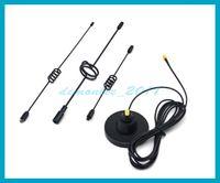 Wholesale Gsm Cdma 3g Antenna - Free shipping 1 PC NEW 14dbi 890-960 1710-2150MHz Vehicle Antenna 3G CDMA GSM car Antenna SMA plug strong magnetic