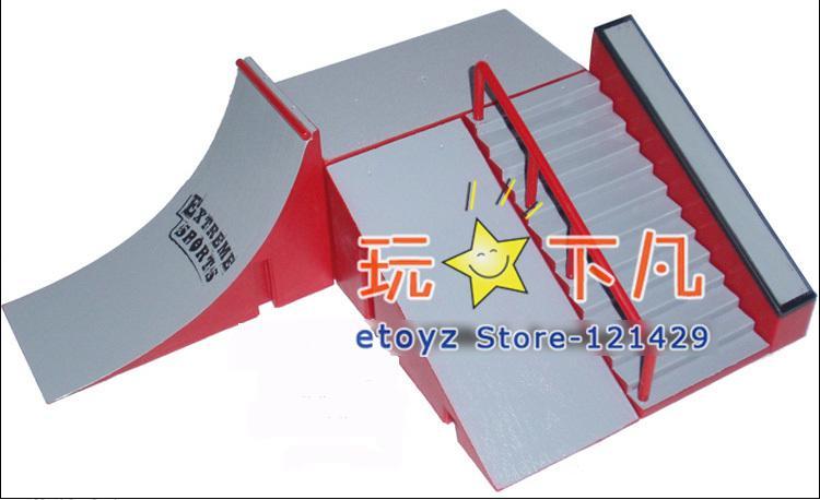 creation 13pcs skatepark kit ramp teile f r tech deck. Black Bedroom Furniture Sets. Home Design Ideas