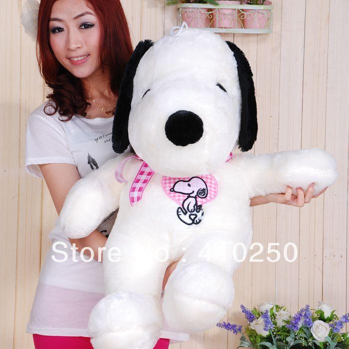 2019 Fashion 80cm Large Huge Big Snoopy Stuffed Animal Doll Plush