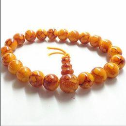 Wholesale Men Bracelet Jade - Men 8mm agate jade crystal bracelet gem glass beaded strands bracelets wristband bands solid cuff hand catenary bangle beads Charm jewelry