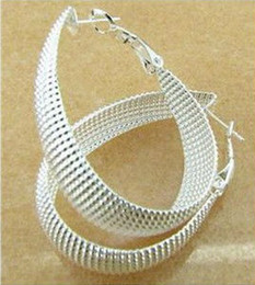Wholesale Sterling Earring Charms - Free shipping 925 sterling silver fashion charm chain earring