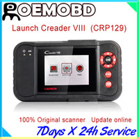 Wholesale Obd Creader - Hot sales Professional Launch Creader viii 100% Original Creader8 (same as Creader CRP129) update online obd ii scanner