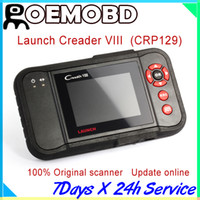 Wholesale Cars Diagnostic Launch Codes - Original Launch Creader 8 creader viii same as CRP129 OBDII code reader update online Launch Code Reader obbii car diagnostic tool