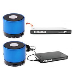 Wholesale Beatbox Bluetooth Speakers - S5Q Metal HiFi BeatBox Bluetooth TF MP3 Player Phone Handfree Mic Stereo Speaker AAACBF