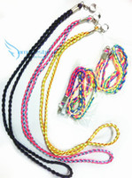 Wholesale E Cigarette Battery Rainbow Color - Rainbow Lanyard for e cig Necklace string for ego X6 K100 evod mini ego e-cigarette battery color amazestore 100pcs DHL free