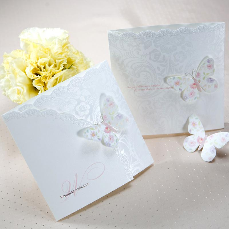 Spring Butterfly Tri Fold Free Personalized & Customized Printing ...