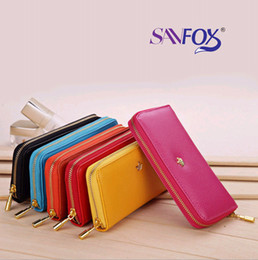 Wholesale Envelope Wallet For Iphone - Envelope wallet PU Leather Crown Smart Pouch Cover case clutch bags handbag for iphone 4 4s 5 5s 5c Samsung Galaxy S4 S3 NOTE 2 note 3