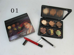 Wholesale Eye Shadow Pen Makeup - Free Gift!!!NEW Makeup Oz The GREAT AND POWERFUL Theodora Palette Lipstick pen+ 6 color Eye Shadow+ Eyeliner 12pc