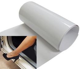 Wholesale Door Sill Kia - 98m* 20cm Clear Door Sill or Door Edge Paint Protection Scratch Film Vinyl Sheet