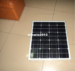 Wholesale Panels Module Solar - newly 50w solar panel for 12V system, monocrystalline, photovoltaic panel, solar module, solar panel for home