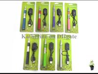 эго т комплект зеленый оптовых-Mini Protank Starter Pack Kits 650mah 900mah 1100mah eGo t аккумулятор в зеленой розничной упаковке все цвета instock с хорошим качеством элементов