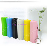 Wholesale External Power Source - Perfume 2600mAh mini USB External Power Bank Portable Battery Charger Source For Samsang Mobile Cell phone with Package
