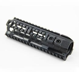 Toptan satış AEG M4 M16 Siyah için NOVESKE 7 inç Handguard Raylı Sistem